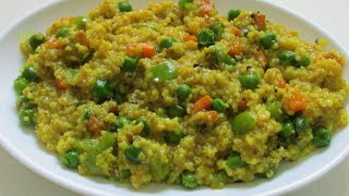 Vegetable daliya recipe in hindi/Veg dalia pulao/Broken wheat recipe