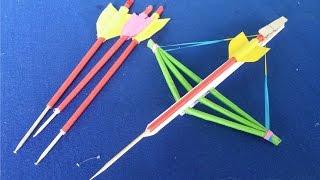 紙を使用してクロスボウの作り方   クリエイティブ玩具 つまようじボーガン 検索動画 23