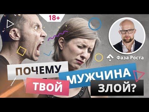 Почему мужчина злой и агрессивный? Что делать с агрессией мужчины? #ФазаРоста #ЯрославСамойлов
