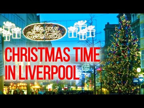 The UK Today - Liverpool City Centre At Christmas Time ! .......England