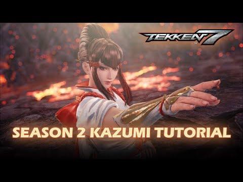 Tekken 7 - Kazumi complete tutorial (Season 2)