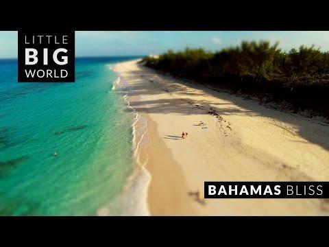 Bahamas Bliss (Time Lapse - Aerial - Tilt Shift- 4k)