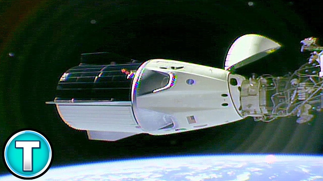 SpaceX Dragon 2 Docks with ISS, Crew Enters - YouTube
