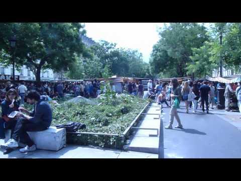 Outdoor market, Paris France