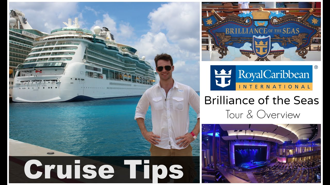 World S Largest Cruise Ship Royal Caribbean Quot Brilliance Of The Seas Quot Tour Amp Overview