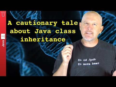 Beware! A cautionary tale about Java class inheritance - 029