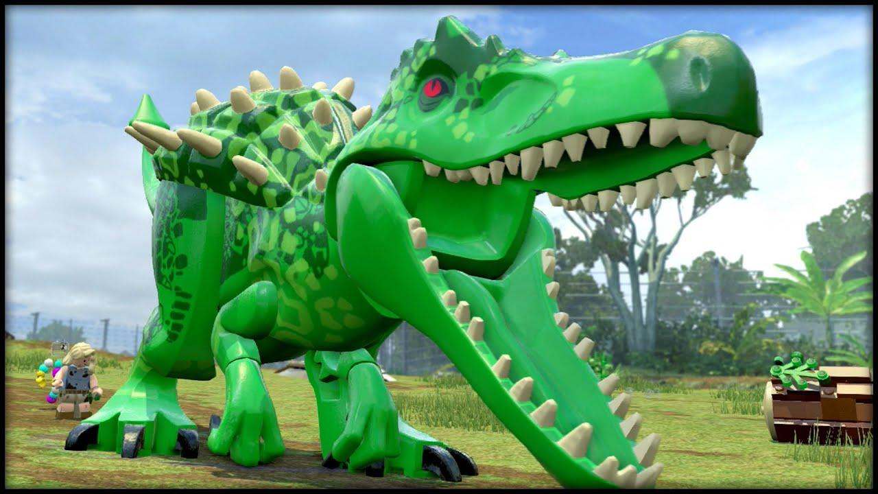 Wall Stickers Dinosaurs Lego Jurassic World Indominus Hulk Youtube