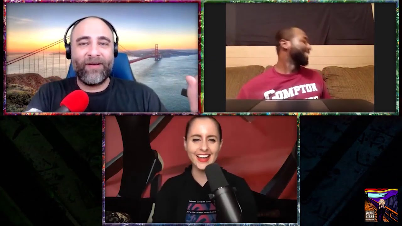 Comedian Jeremy Scippio takes the Cuties Challenge with Corinne Fisher & Kurt Metzger
