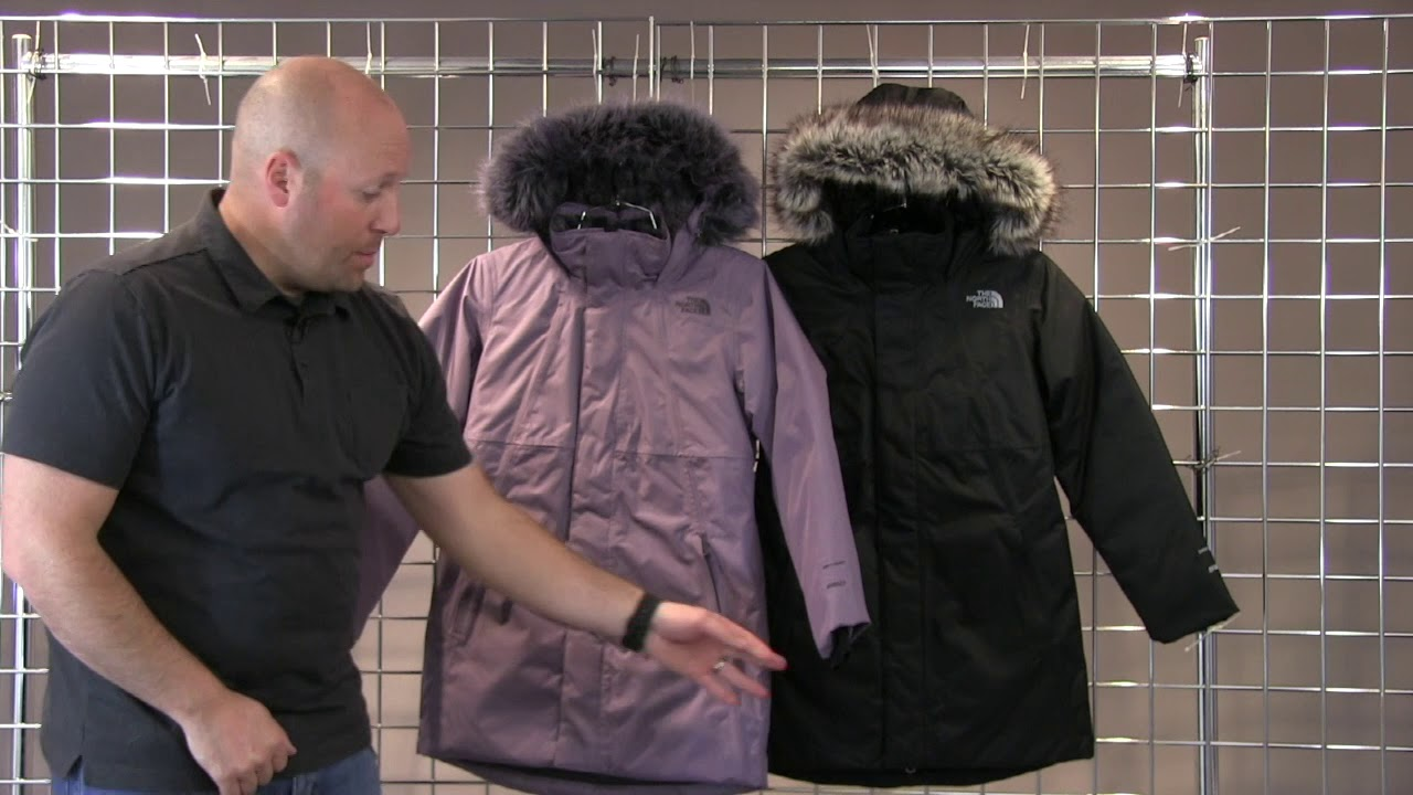 a916e7587 The North Face Girls Arctic Swirl Down Jacke 2018-2019 - YouTube