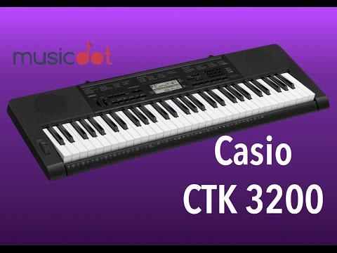 Review Casio Ctk 3200 (demo)