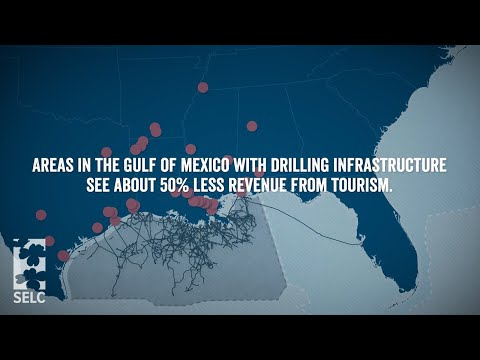 Offshore drilling infrastructure impacts