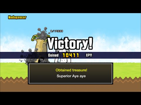 [The Battle Cats] How to get Superior Treasure 2: Madagascar