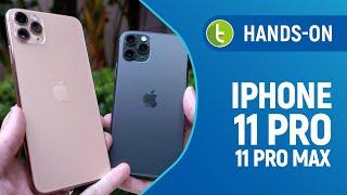 IPHONE 11 PRO e 11 PRO MAX: testes de CÂMERA e DESEMPENHO em um unboxing com hands-on