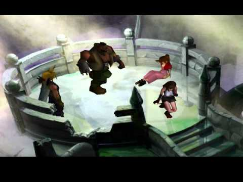 Aeris Death FF7 HD Mod and remastered music