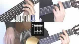 Volare Gipsy Kings Part 2/8 Guitar Lesson www.FarhatGuitar.com