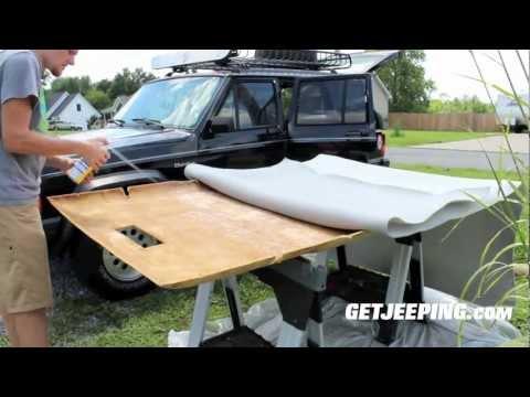 how to fix car interior ceiling