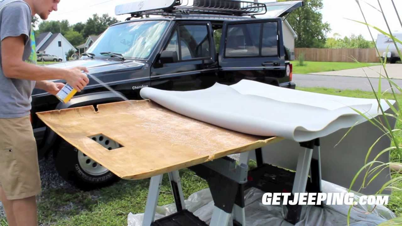 How To Installing Headliner In 1984 2001 Jeep Cherokee