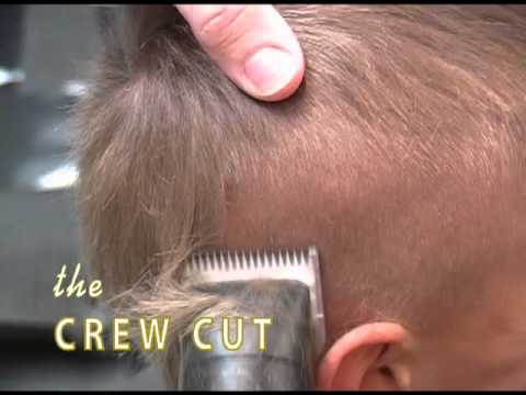 how to give a crew cut