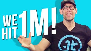 We JUST Hit 1 Million Subscribers!!