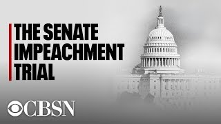 Watch Live | Impeachment trial: Senate proceedings set to begin as rules come into focus