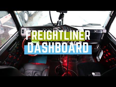 Freightliner Dashboard Upgrade/ Mejorando La Pizarra De Freighliner