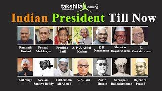 List of all President of India till now (Rajendra Prasad to Shri Ram Nath Kovind)