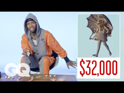 Tory Lanez Shows Off His Insane Jewelry Collection   GQ