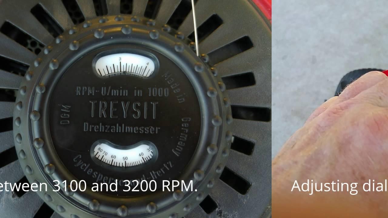 Briggs And Stratton Treysit Vibration Tachometer Honda Gcv160 Rpm Measurement