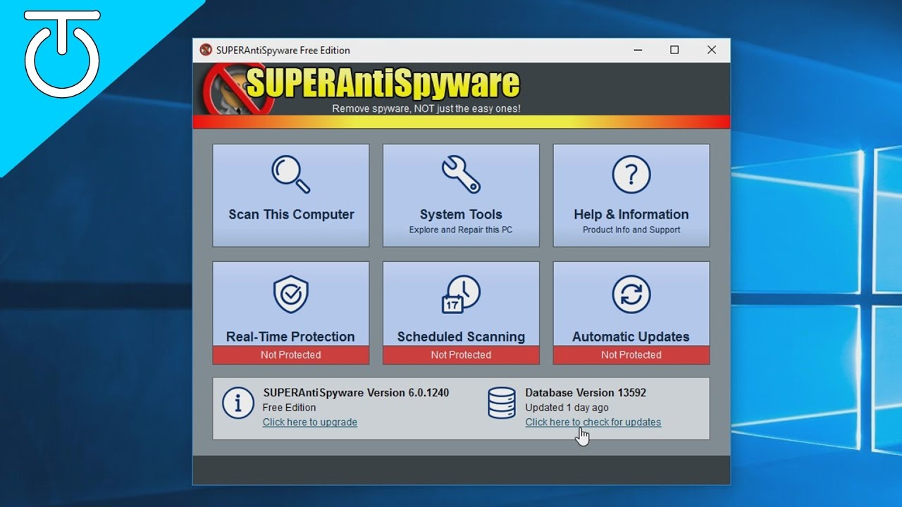 Installing Free Version Of Superantispyware On Customer Compters