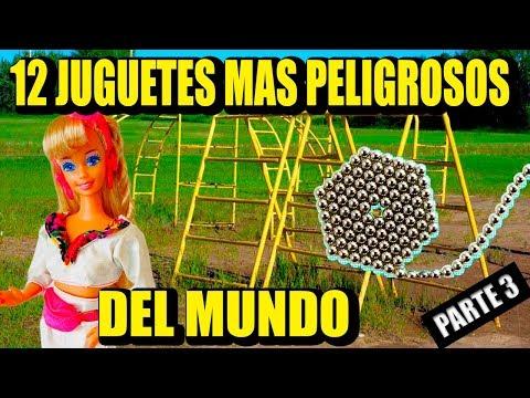 TOP 12 JUGUETES PELIGROSOS parte 3 | Los 12 Mas