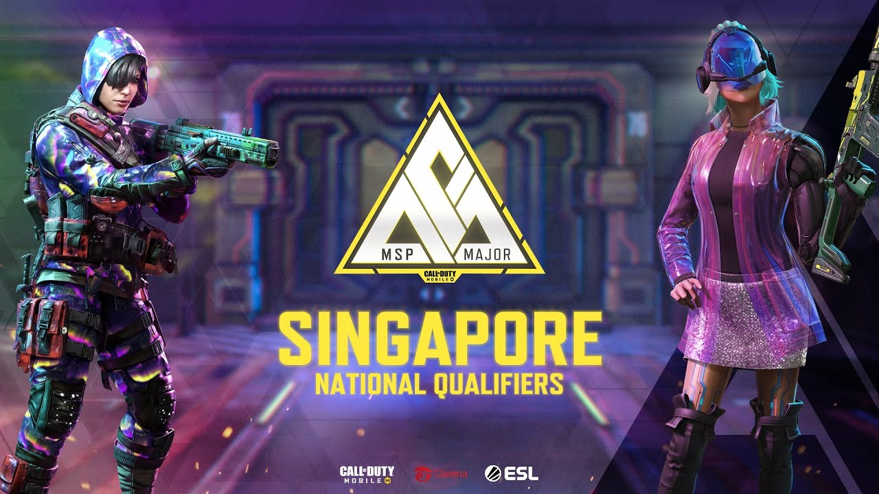 🔴LIVE: MSP Major - Singapore National Qualifiers - Garena Call of Duty: Mobile