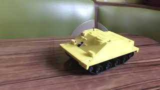 Заводна механічна іграшка -БМП.СРСР.Рідкість