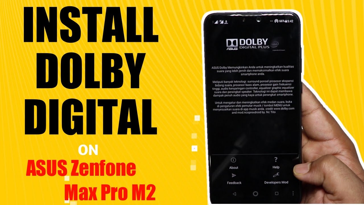Asus Zenfone Max Pro M2 Tips & Tricks to install Dolby Digital without  Root  Easy Guide in Hindi