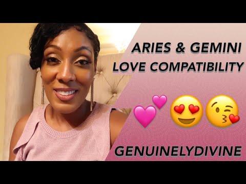 ARIES Man & GEMINI Woman (Love♥️ Compatibility)