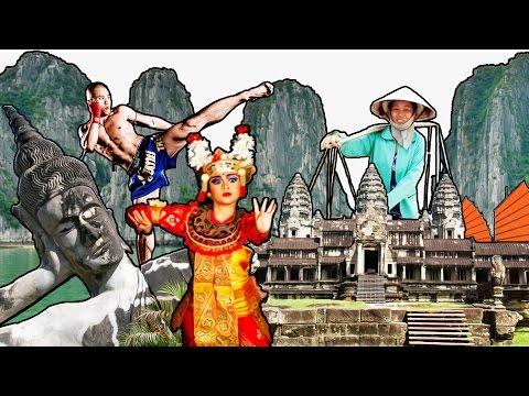 Cosmoviajeros - Volando a Bali - ( Sudeste asiáticoep. 1)