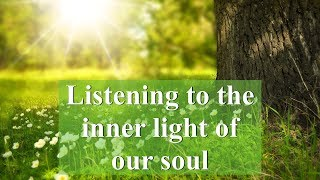 Listening to the inner light of our soul | Women's Lectures (Shiurim)