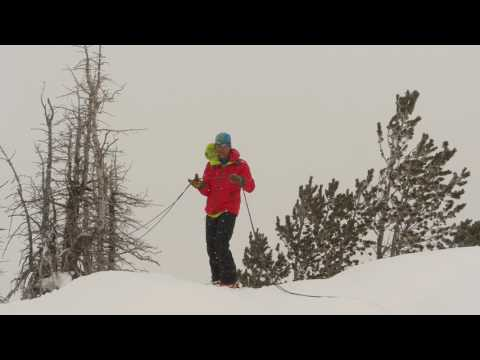 Ski Mountaineering Skills with Andrew McLean - Couloirs
