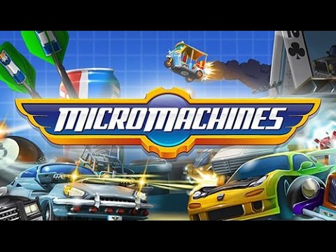Racing Game Micro Machines (Android)