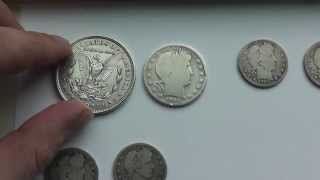 Big Silver Find Of Old Us Coins