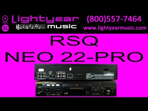 RSQ NEO 22 PRO Karaoke Machine, Player, System Lightyearmusic