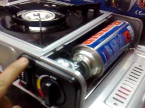 Cocina portatil gas butsir ms 1000 youtube - Cocina camping gas carrefour ...