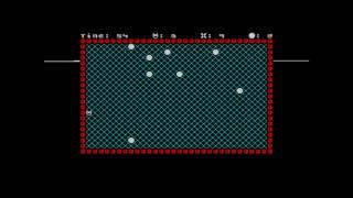Моя игра для ZX-Spectrum, ассемблер, 1995 год