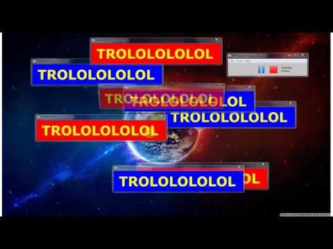 fake troll virus  troll program