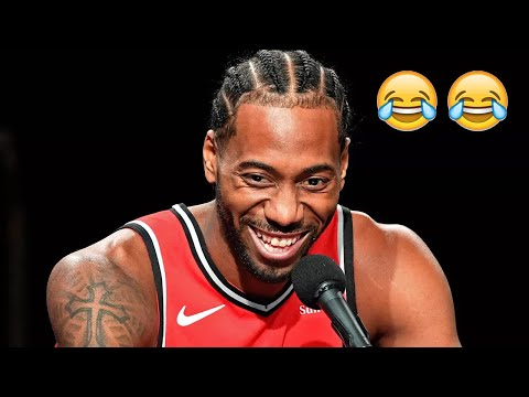 Kawhi Leonard Laughing Compilation