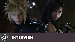 Final Fantasy VII Remake by Square Enix | E3 2019 Developer Interview | Unreal Engine