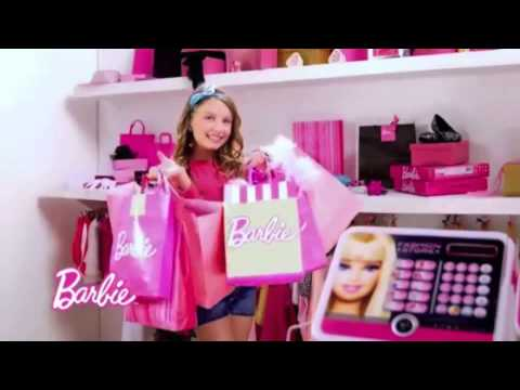 Mixyou giocattoli barbie registratore di cassa youtube for Casa di barbie youtube