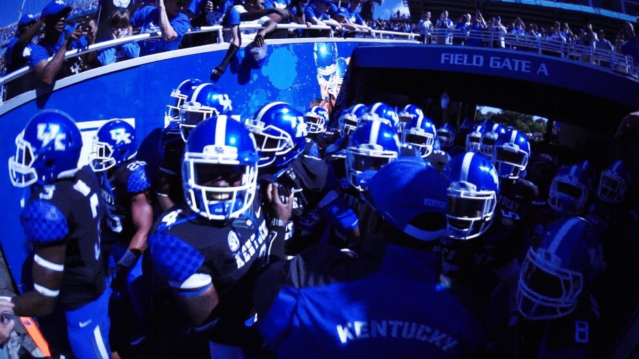 University Of Kentucky Athletics October An Exciting: Kentucky Wildcats TV: Kentucky Football Team Pump Up Vid