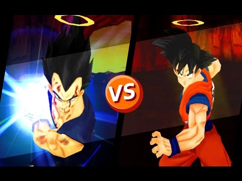 Vegeta aureola vs Goku aureola
