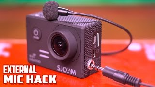 DIY-ACTION CAMERA EXTERNAL MIC MOD//SJCAM SJ5000 WIFI EXTERNAL MIC//EXTERNAL MIC STEP BY STEP GUIDE