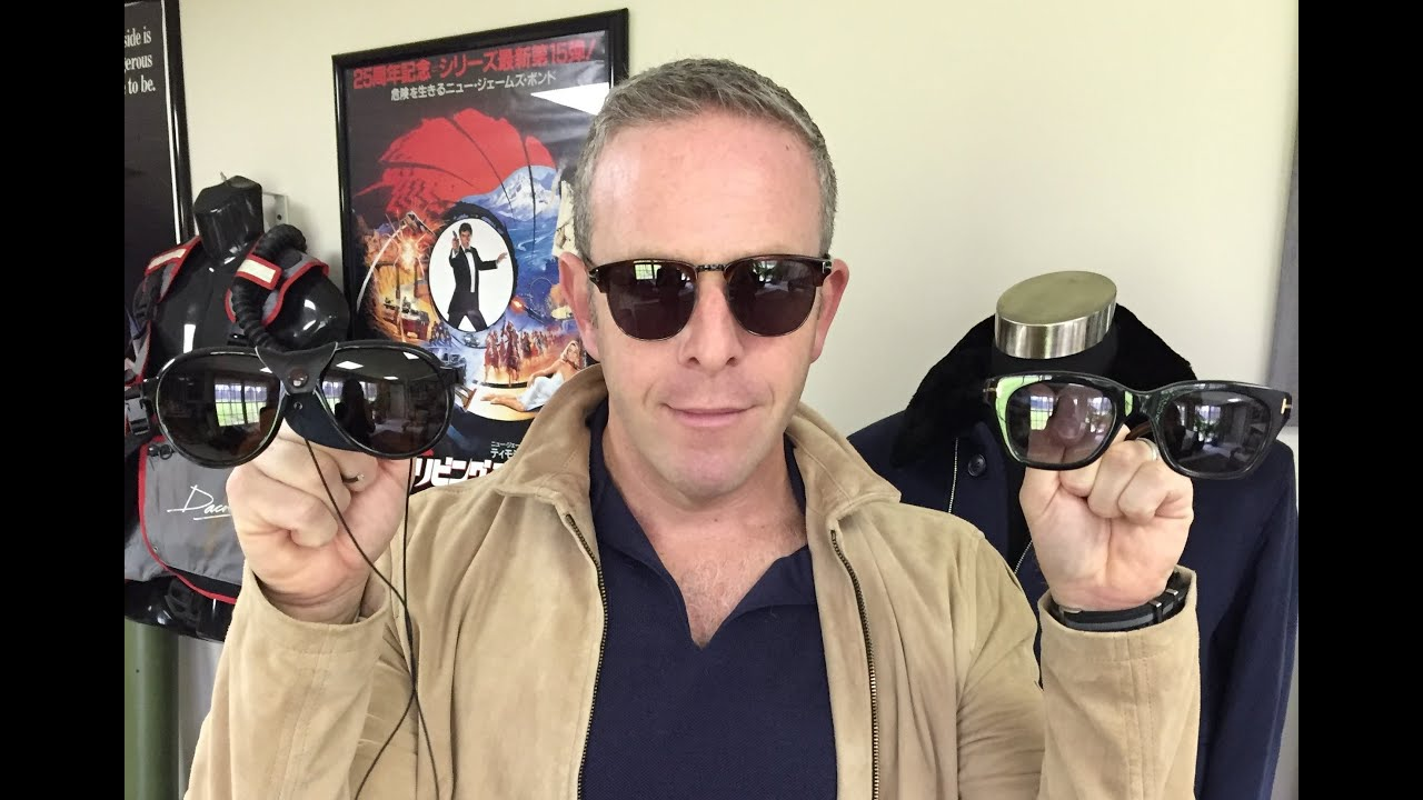 ef41acc86c James Bond s Spectre Sunglasses - YouTube